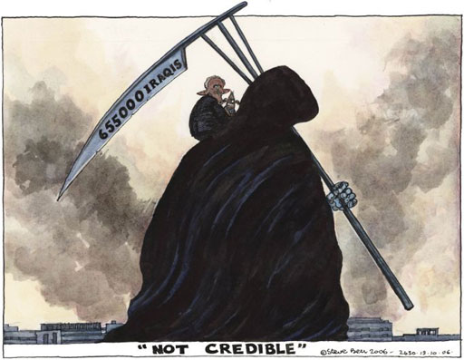 """NOT CREDIBLE"" http://image.guardian.co.uk/sys-images/Guardian/Pix/steve_bell/2006/10/13/stevebell131006a.jpg"