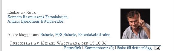M/S Estonia: Öppet brev till den nya regeringen (del 3 av bild i 3 delar)